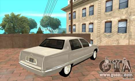 Cadillac Deville v2.0 1994 for GTA San Andreas right view