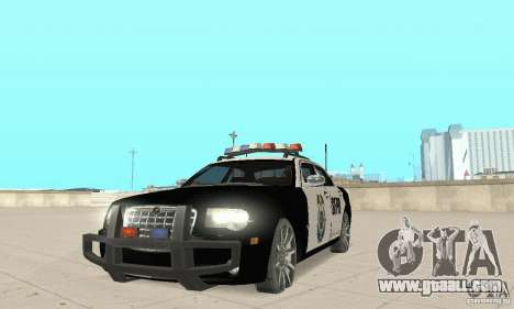 Chrysler 300C Police v2.0 for GTA San Andreas