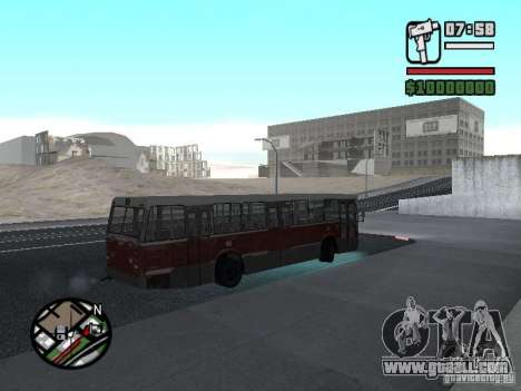 DAF CSA 1 City Bus for GTA San Andreas back view