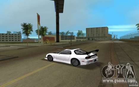 Mazda RX-7 FD3S for GTA Vice City left view