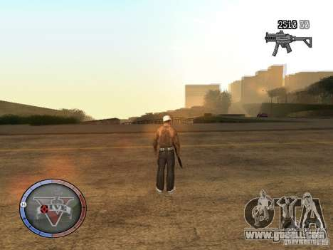 GTA 5 HUD for GTA San Andreas second screenshot