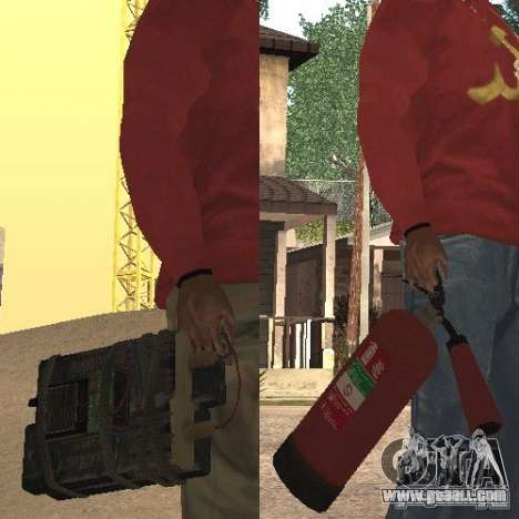 Fire extinguisher from GTA 4 for GTA San Andreas