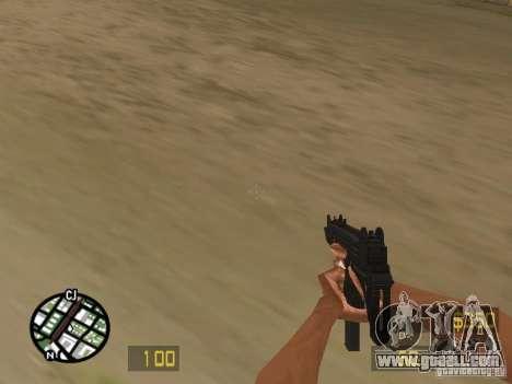 UZI for GTA San Andreas third screenshot