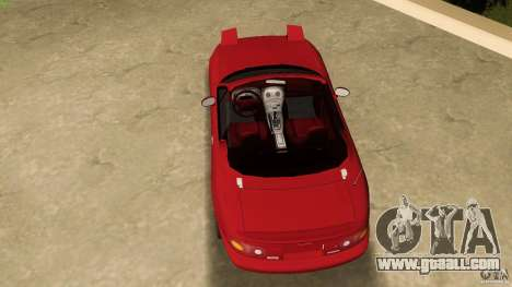 Mazda MX-5 for GTA Vice City right view
