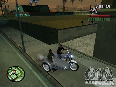 Izh Planeta -5 for GTA San Andreas back view