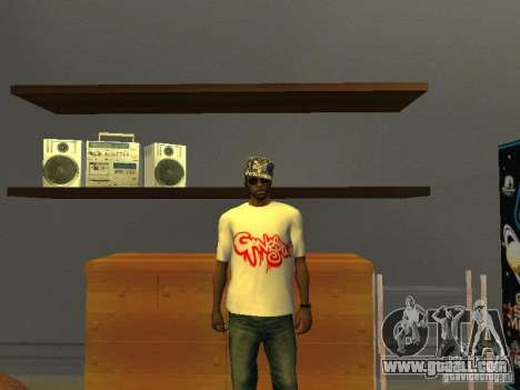 Gangsta T-shirt for GTA San Andreas