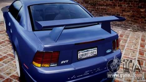 Ford Mustang SVT Cobra v1.0 for GTA 4 interior