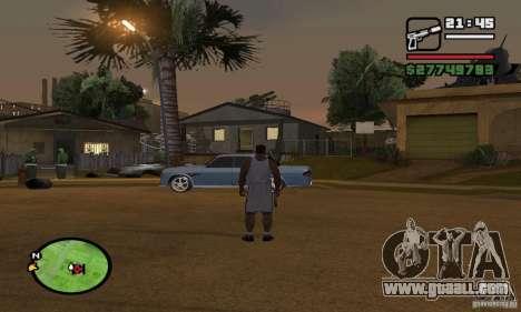 GROOVE STREET BASE for GTA San Andreas second screenshot