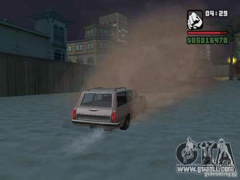 New Realistic Effects for GTA San Andreas ninth screenshot