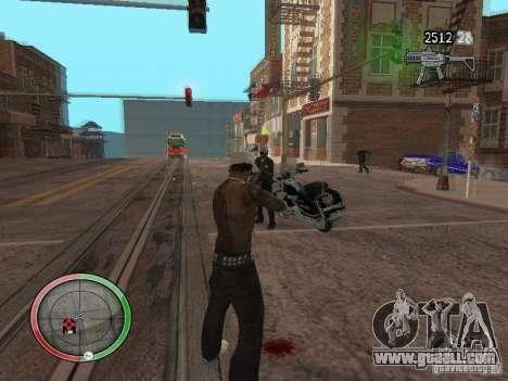 GTA IV HUD v4 by shama123 for GTA San Andreas third screenshot
