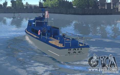 Coast Guard Patrol for GTA 4 right view
