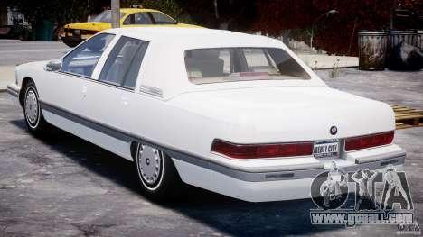 Buick Roadmaster Sedan 1996 v1.0 for GTA 4 right view