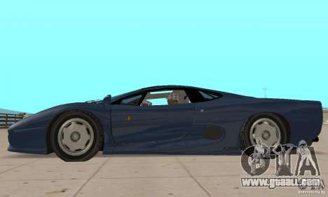 Jaguar XJ220 for GTA San Andreas back left view
