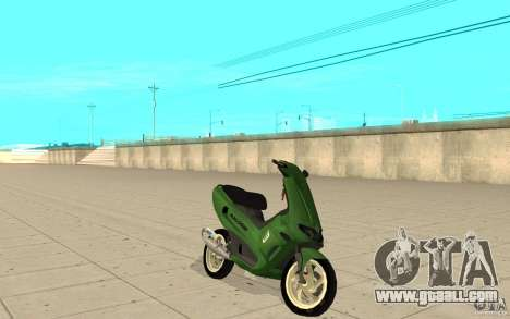 Gilera Runner 50SP Skin 4 for GTA San Andreas