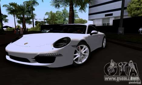 Porsche 911 Carrera S for GTA San Andreas