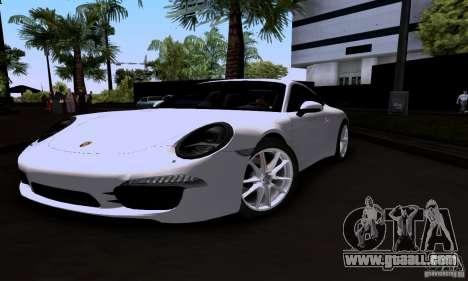 Porsche 911 Carrera S for GTA San Andreas