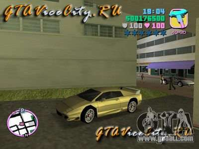 Lotus Esprit V8 v1.2 for GTA Vice City