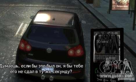Theme GTAViceCity.RU for GTA 4 fifth screenshot