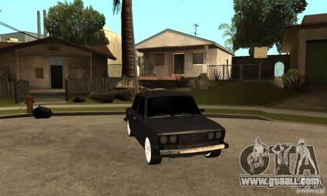 Lada VAZ 2106 LT for GTA San Andreas back view