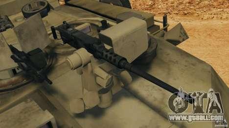 M1A2 Abrams for GTA 4 bottom view