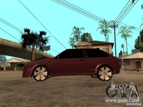 VAZ 2108 Tuning for GTA San Andreas left view