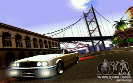 BMW E30 M3 Cabrio for GTA San Andreas
