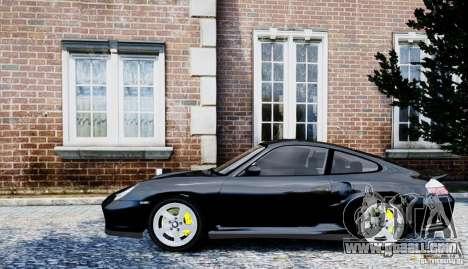 Porsche 911 Turbo S for GTA 4 back left view
