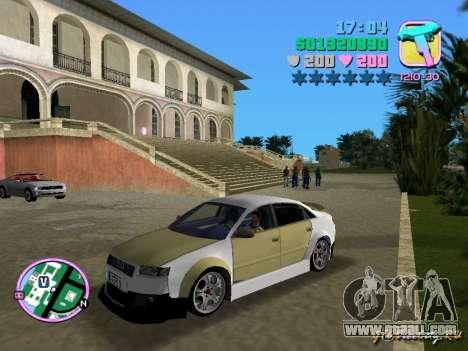 Audi S4 Tuned for GTA Vice City