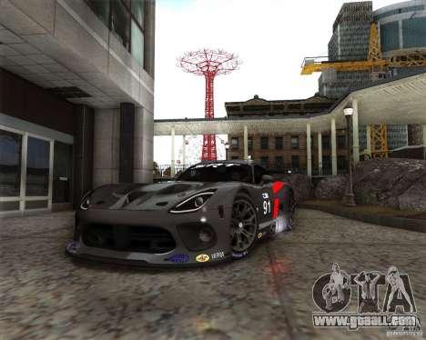 SRT Viper GTS-R V1.0 for GTA San Andreas left view