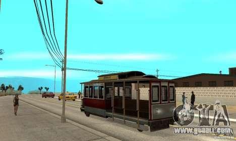 Tram for GTA San Andreas