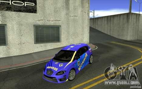 Seat Leon Cupra R for GTA San Andreas interior