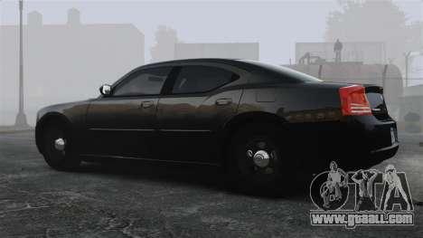 Dodge Charger RT Hemi FBI 2007 for GTA 4 left view