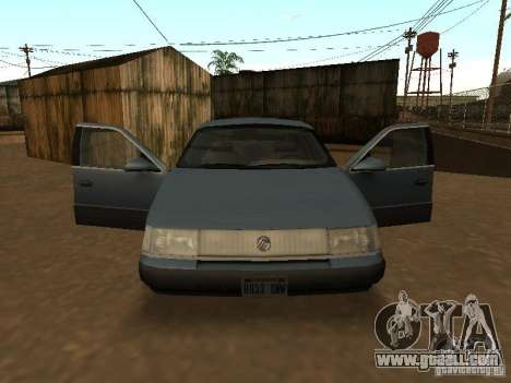 Mercury Sable GS 1989 for GTA San Andreas right view