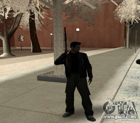 New animations 2012 for GTA San Andreas