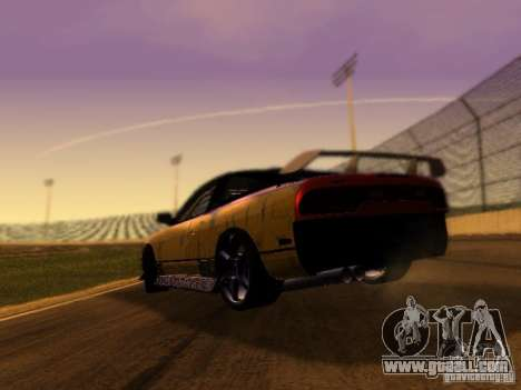 Nissan 240sx Street Drift for GTA San Andreas back left view