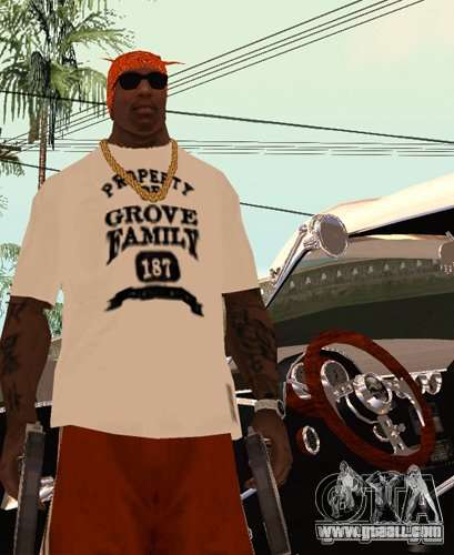 Replacement bands, tattoos, clothing, etc. for GTA San Andreas third screenshot