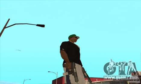 WEAPON BY SWORD for GTA San Andreas eleventh screenshot