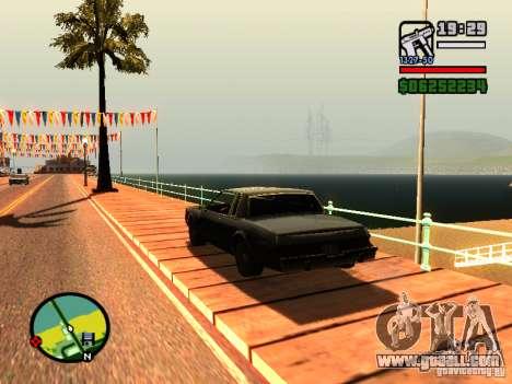Enbseries for GTA San Andreas forth screenshot