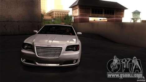 Chrysler 300C V8 Hemi Sedan 2011 for GTA San Andreas back left view