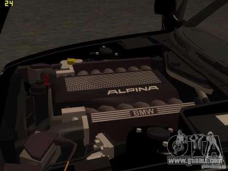 BMW E34 Alpina B10 Bi-Turbo for GTA San Andreas side view