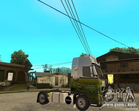 Volvo FH16 globetrotter for GTA San Andreas right view