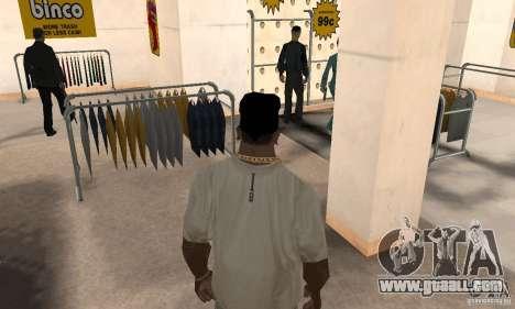 Bandana batman for GTA San Andreas third screenshot
