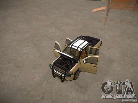 Chevrolet Silverado for GTA San Andreas upper view