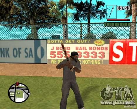 Bloody bits for GTA San Andreas second screenshot