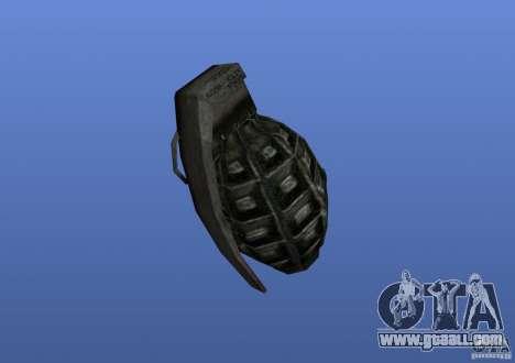 Grenade for GTA 4 second screenshot