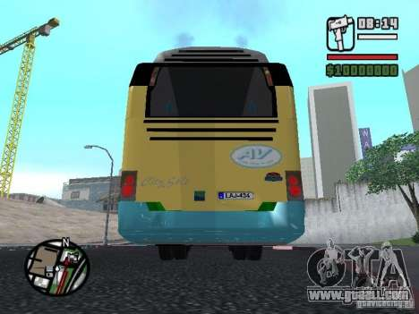 CitySolo 12 for GTA San Andreas back view