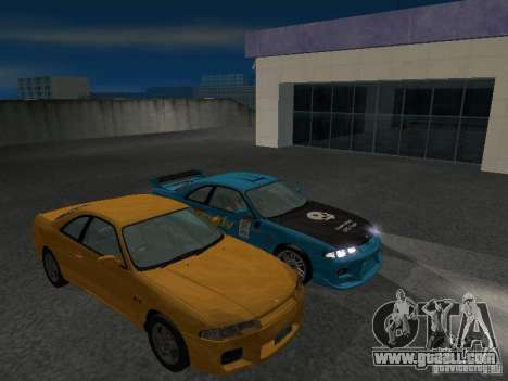 Nissan Skyline R 33 GT-R for GTA San Andreas upper view