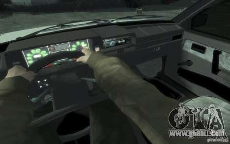 VAZ 21083i for GTA 4 back left view