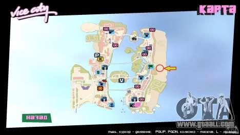 Vice City Beach-Park for GTA Vice City forth screenshot