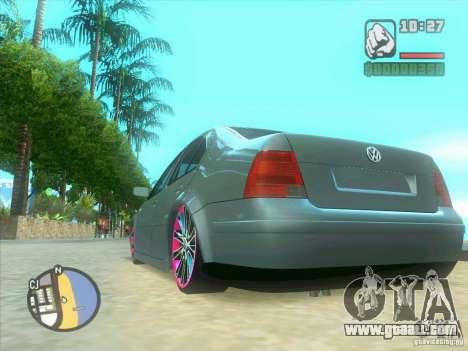 VW Bora Tuned for GTA San Andreas inner view